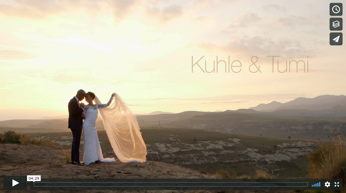 Clarens Wedding Video